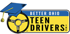 Better Ohio Teen Drivers Car Control Drills Program Student Participation Logo